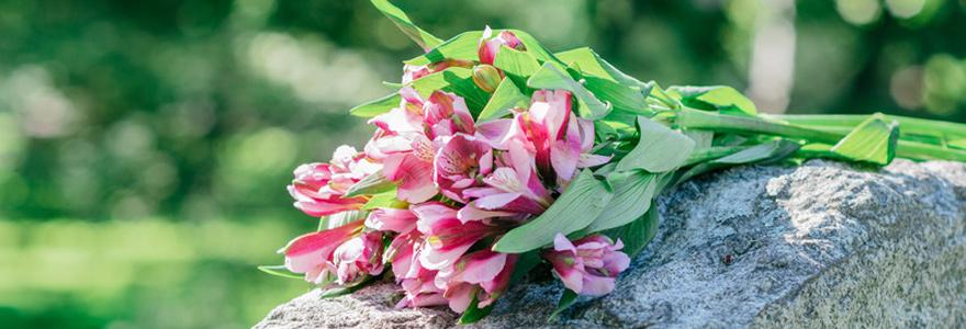 des fleurs traditionnelles