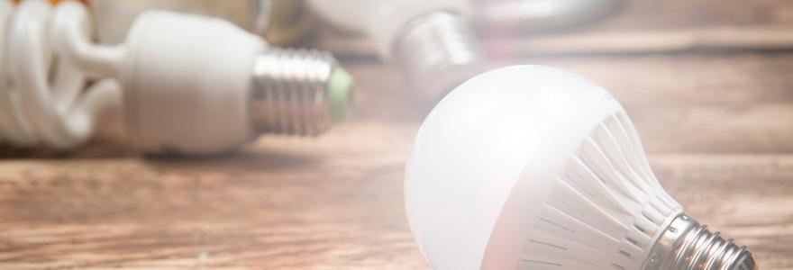 une lampe de croissance a LED