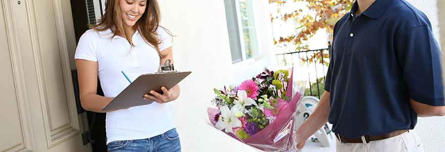 fleur a domicile